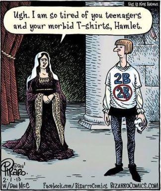 hamlet teenage tshirt